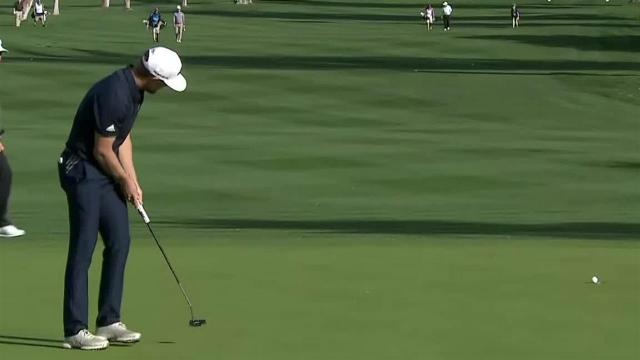 Sebastian Cappelen's nice approach yields birdie at The American Express