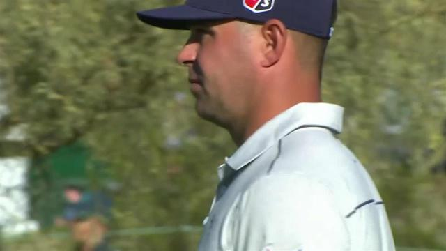 Gary Woodland's impressive second leads to birdie at Waste Management