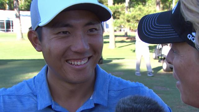 C.T. Pan's interview after winning RBC Heritage