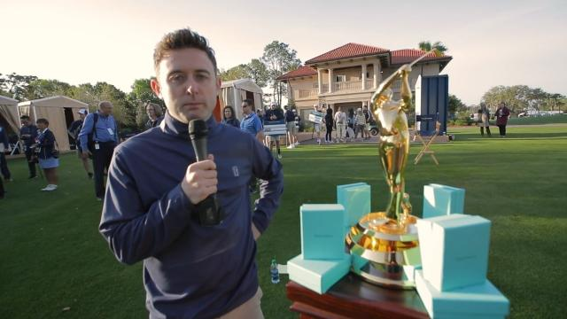 Conor Moore impersonates TOUR players at THE PLAYERS