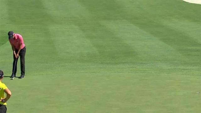 Collin Morikawa's 21-foot birdie putt at John Deere