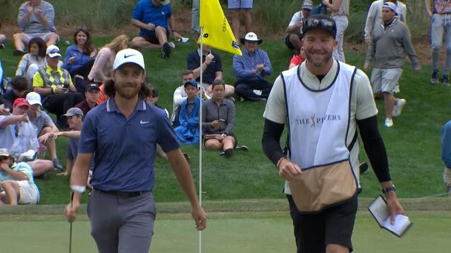 Tommy Fleetwood Round 3 highlights from THE PLAYERS
