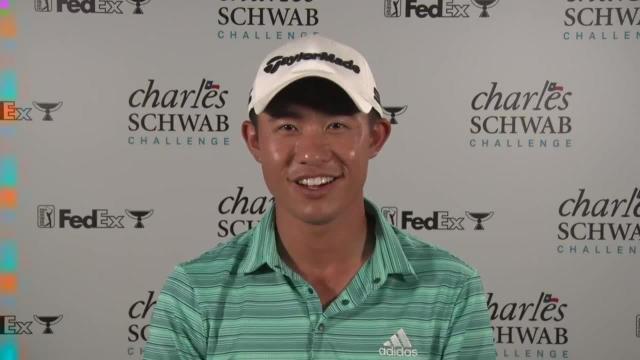 Collin Morikawa reflects on runner-up finish last year at Charles Schwab