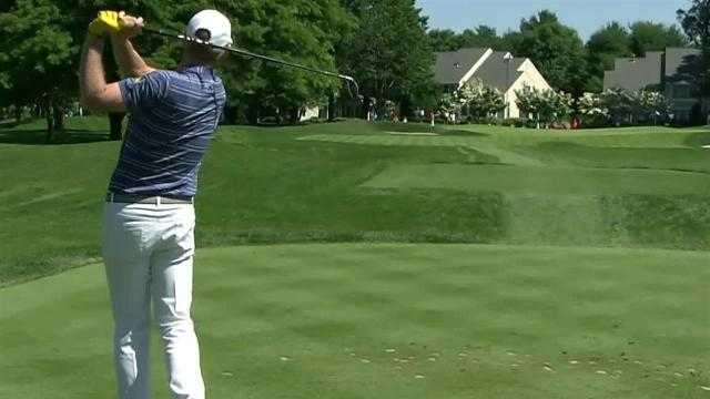 Brandt Snedeker's tee shot leads to birdie at Travelers