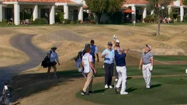 Today's Top Plays: One-armed amateur ace leads shots of the week