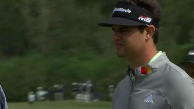 Beau Hossler gets up-and-down for birdie at Houston Open
