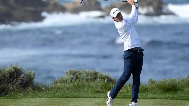 Nick Taylor leads by one after 54 holes at AT&T Pebble Beach