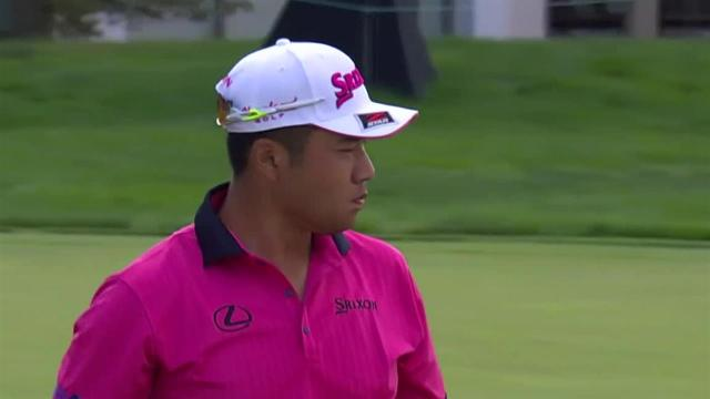 Hideki Matsuyama birdies No. 10 at the Memorial