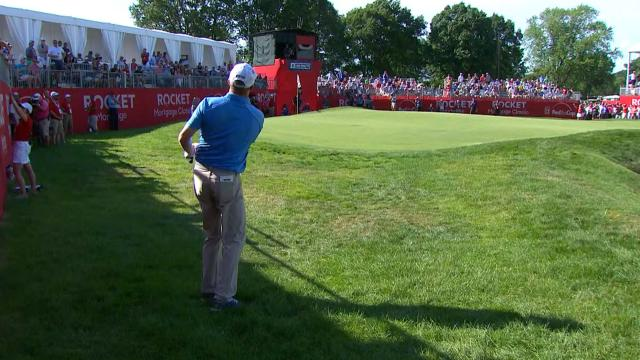 Today's Top Plays: Nate Lashley's clutch chip from the rough for Shot of the Day