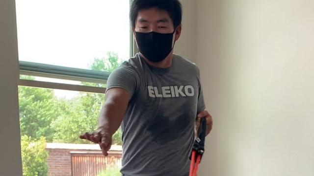 Sung Kang's workout regimen