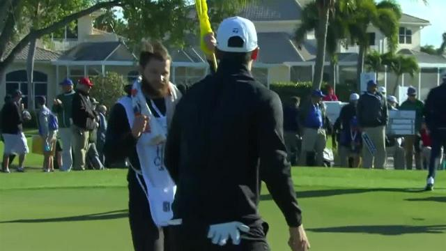 Matthew Wolff uses nice approach to set up birdie at Honda