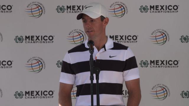 Rory McIlroy on trying to win fourth WGC title before the WGC-Mexico