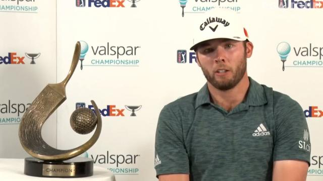 Sam Burns talks controlling nerves and Louisiana influence at Valspar