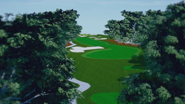 Valspar Championship hole overview at Innisbrook Resort (Copperhead)