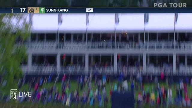 Sung Kang uses nice tee shot to set up birdie at THE PLAYERS