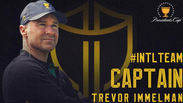 Trevor Immelman named 2021 International Team Captain