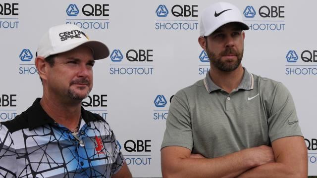 Sabbatini and Tway comment after Round 1 of the QBE Shootout