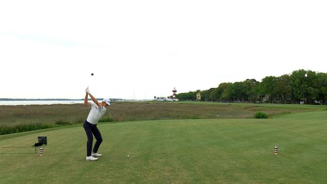 Leaders in Driving at the RBC Heritage
