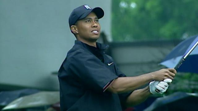 Tiger Woods' fourth victory at Bay Hill on March 23, 2003