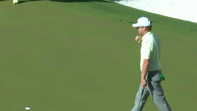 Charley Hoffman's nice tee shot leads to birdie at Waste Management