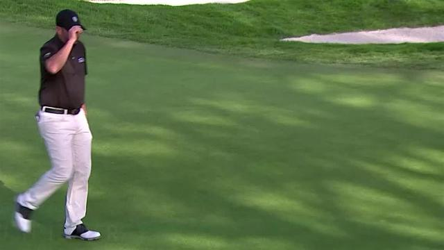 Josh Teater sinks 55-footer for birdie at Farmers