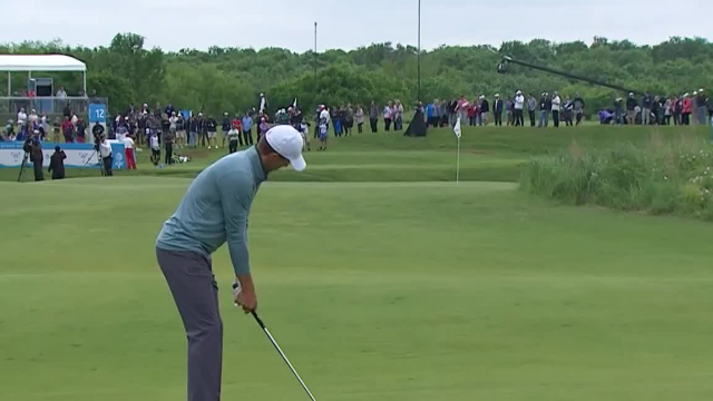 Jordan Spieth's approach lands within 11 inches at AT&T Byron Nelson