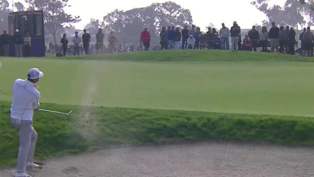 Ryan Palmer gets up-and-down from bunker at Farmers