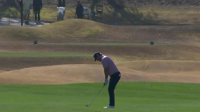 Grayson Murray's approach inside 5 feet leads to birdie at The American Express