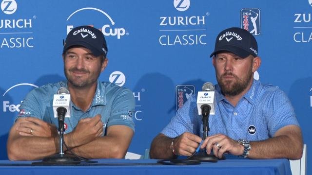 Kisner & Brown news conference before Zurich Classic