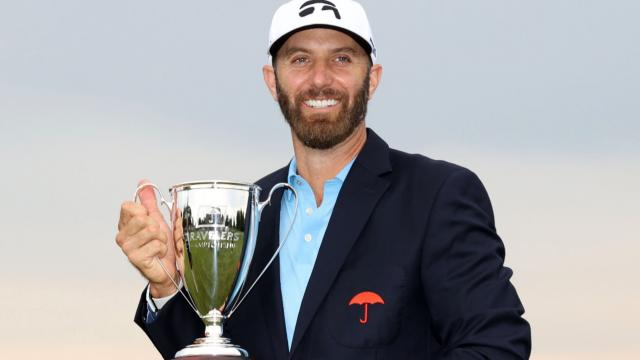 Dustin Johnson's winning highlights from Travelers