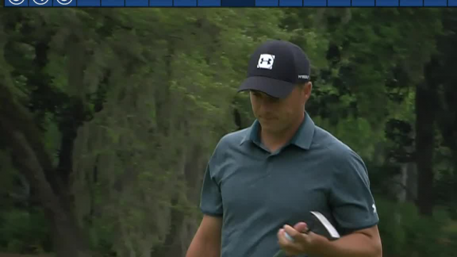 Jordan Spieth's 169-yard approach sets up birdie putt at RBC Heritage
