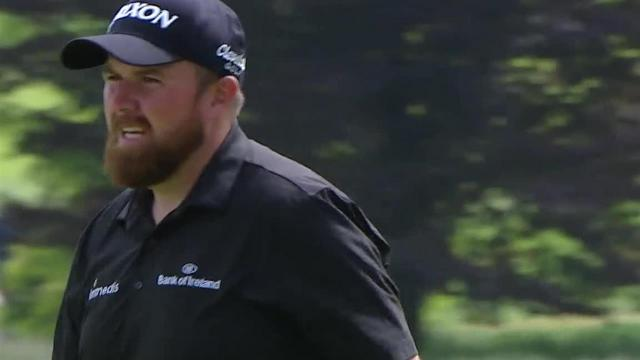 Shane Lowry cards birdie at the turn at RBC Canadian