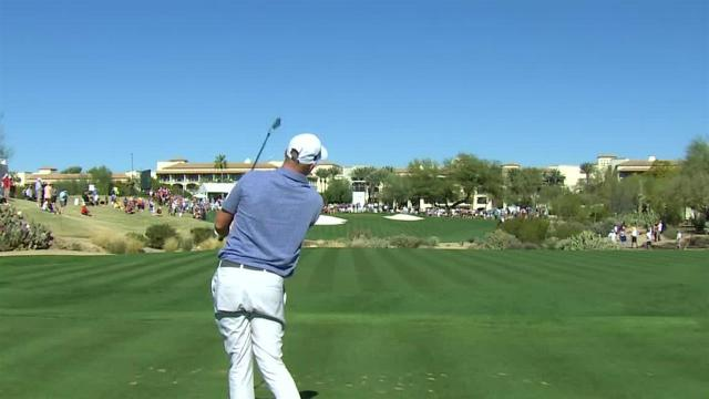 Adam Long's tee shot to 10 feet leads to birdie at Waste Management