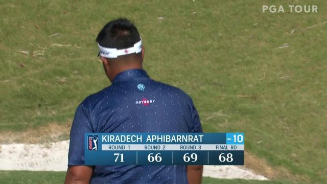 Kiradech Aphibarnrat closes with birdie at Bermuda