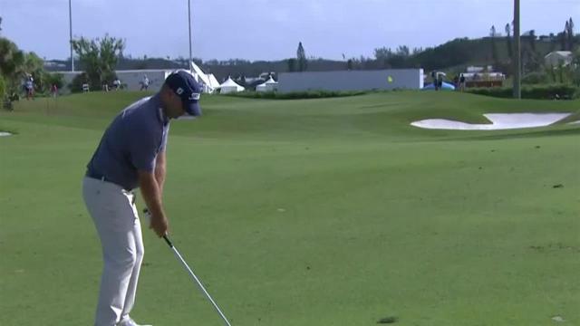 Ryan Armour uses nice approach to set up birdie at Bermuda