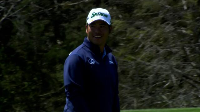 PGA TOUR   Today's Top Plays: Hideki Matsuyama's birdie chip-in is the Shot of the Day