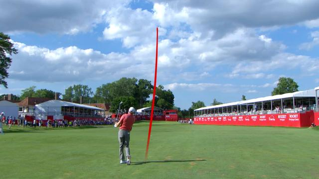 Today's Top Plays: Nate Lashley's fantastic approach on No. 18 is the Shot of the Day