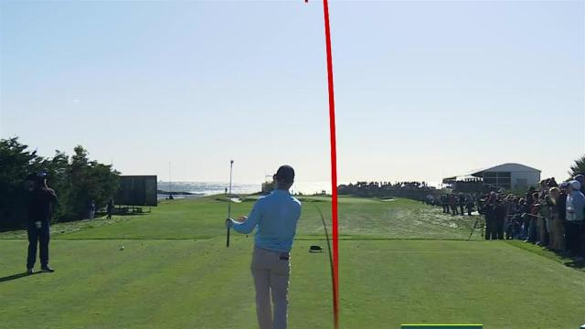 Kevin Streelman's tight tee shot leads to birdie at AT&T Pebble Beach