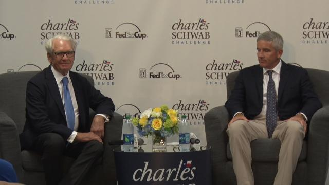 Charles Schwab announces new commitment to Texas golf