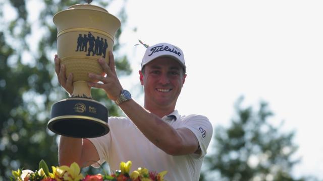Justin Thomas wins 2020 WGC-FedEx St. Jude
