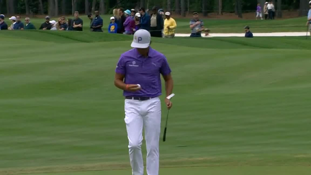 Rickie Fowler jars 15-footer for birdie at THE PLAYERS