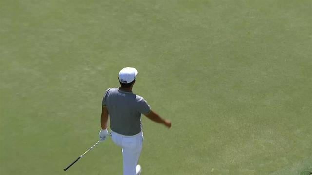 Byeong Hun An's clutch chip shot at Honda