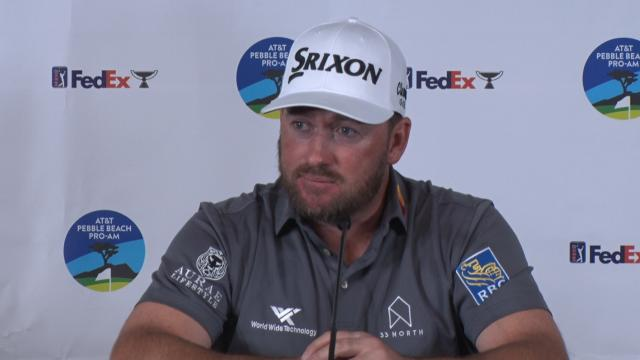 Graeme McDowell on the experience before the AT&T Pebble Beach