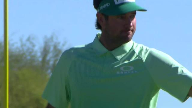 Bubba Watson sinks 36-footer for eagle at Waste Management