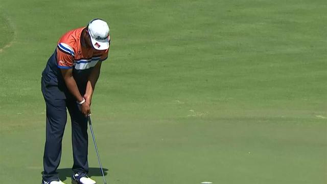 Hideki Matsuyama reaches in two to set up birdie at WGC-FedEx St. Jude