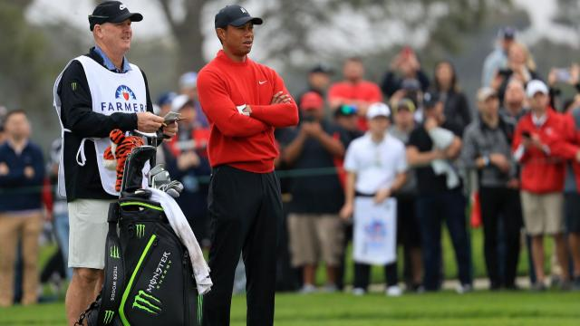 Today's Top Plays: Tiger Woods' would-be eagle is the Shot of the Day