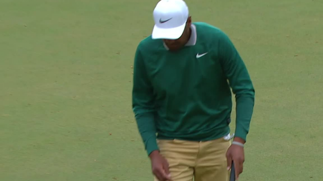 Tony Finau birdies No. 5 at THE PLAYERS