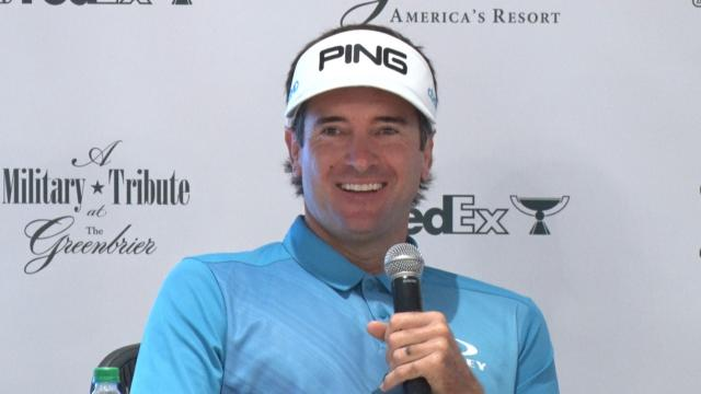 Bubba Watson comments before The Greenbrier