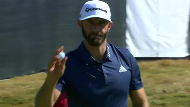 Dustin Johnson's lucky bounce sets up  birdie at Genesis