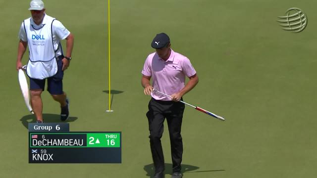 Bryson DeChambeau gets up-and-down for birdie at WGC-Dell Match Play